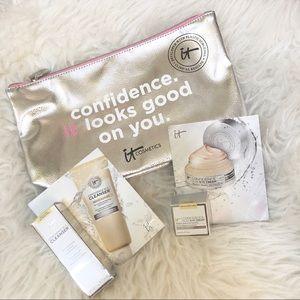 It Cosmetics Confidence Bundle Eye Cream Cleanser